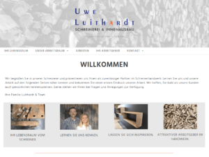 Unsere neue Homepage